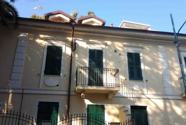 DIK151 Sanremo. New flat in the villa!